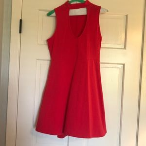 Red dress bought from Express. Size medium